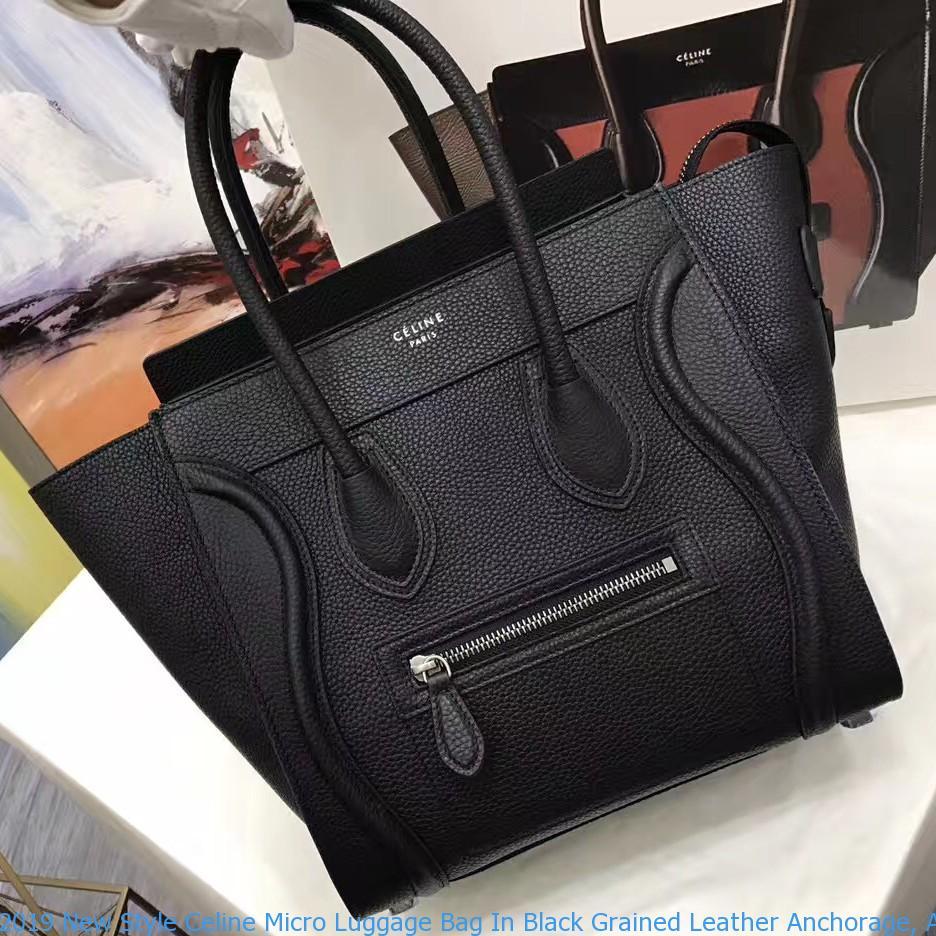 2019 New Style Celine Micro Luggage Bag
