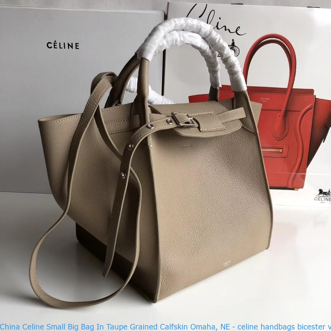 Bag In Taupe Grained Calfskin Omaha Ne