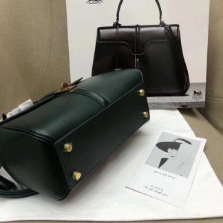 China Cheap Celine Small 16 Bag In Amazone Satinated Calfskin Baton Rouge 4330334d8e8b0