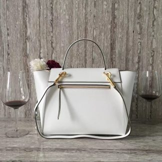 93be3059a0bf You re viewing  FR Celine Mini Belt Bag In White Epsom Calfskin Durham