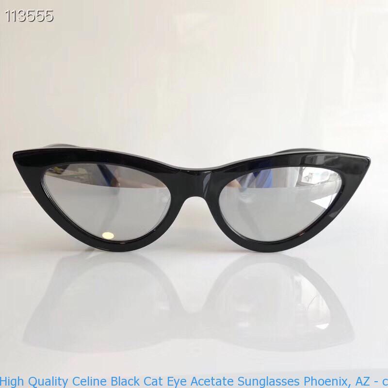 Spring Black Sunglasses Eye Acetate Cat Celine PhoenixAz Handbags High Quality 2787 2017 XZOPkui