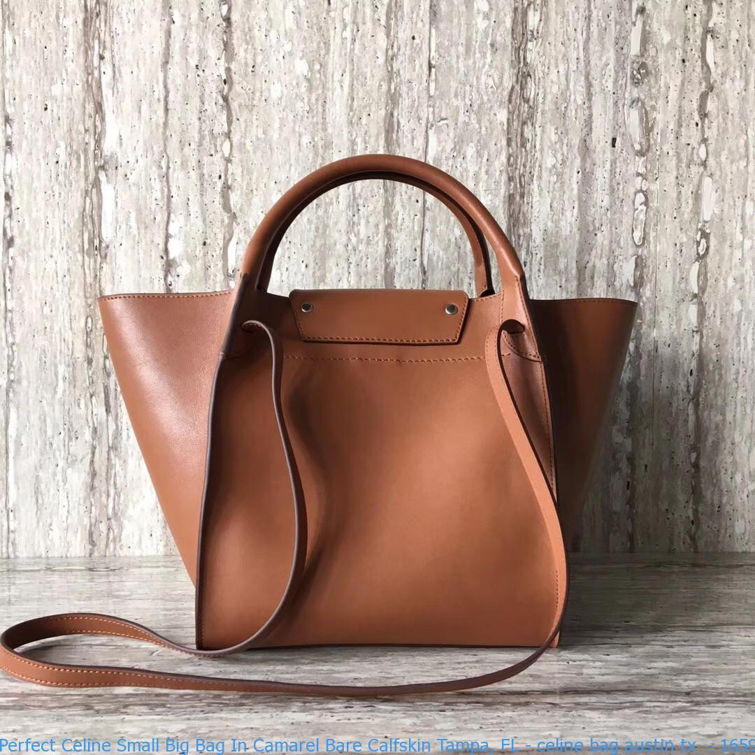 8ad58e0fbb6b Perfect Celine Small Big Bag In Camarel Bare Calfskin Tampa