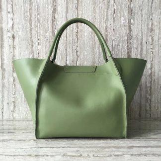 3bc92b7003bd Perfect Quality Celine Medium Big Bag In Olive Calfskin Oakland